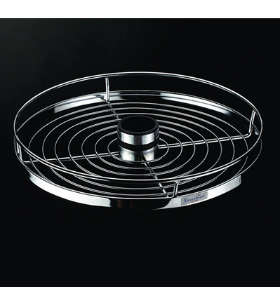 Center Rotating Round Tray (Wire Base)