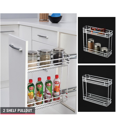 Two Shelf Pullout