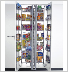 Pantry Unit - Double (Imported Frame 36 Baskets)